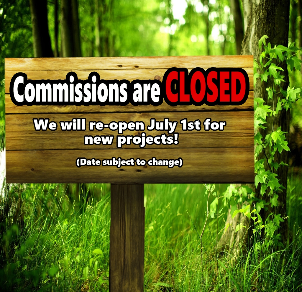 We are CLOSED for commissions