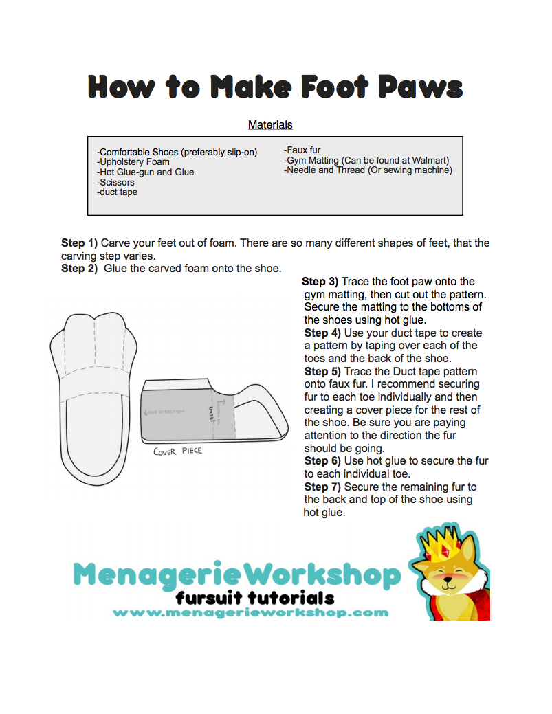 how-to-make-foot-and-paws