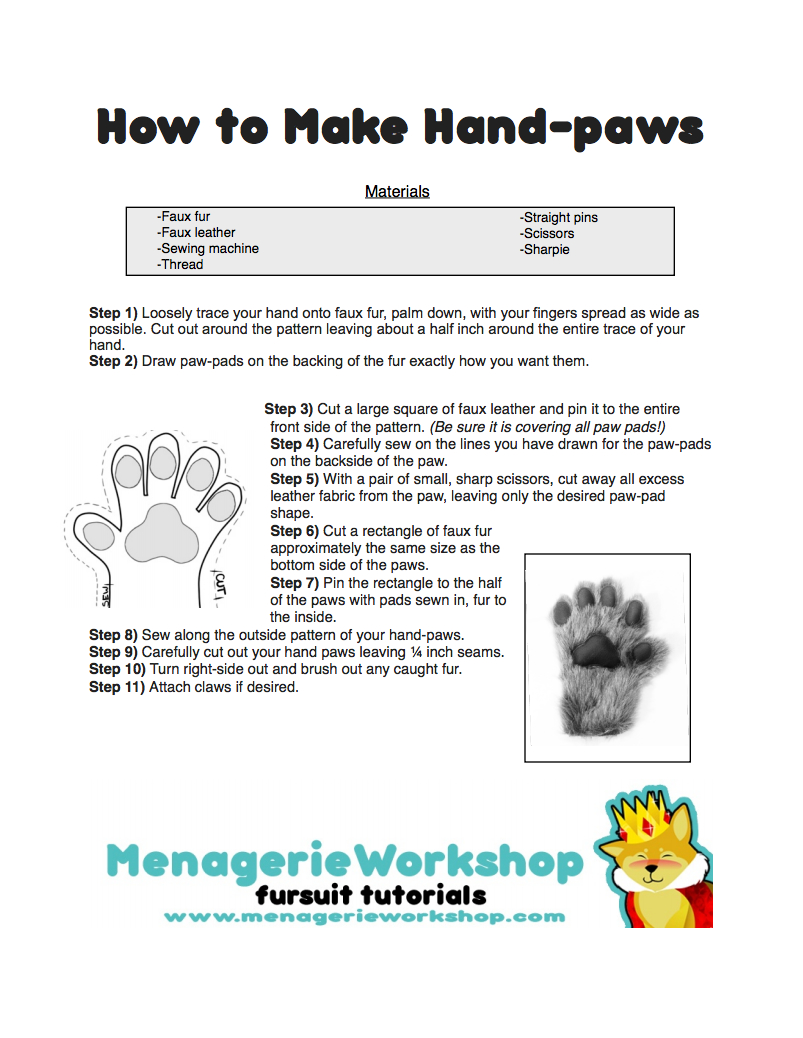 how-to-make-hand-paws