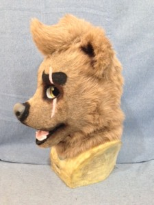 Blake the Bear Fursuit Head