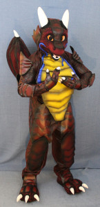 Dragon fursuit costume